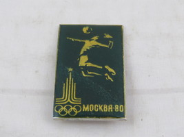 1980 Summer Olympic Pin - Vollebay Event Pin - Moscow USSR - Celluloid Pin image 2