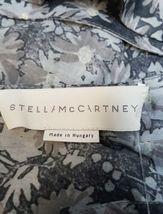 Stella McCartney Women Sleeveless Gray/Purple Summer Floral Print Dress Sz 38 image 4