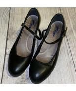 Capezio 6M Women's Leather Black Tap Dance Shoes - $38.40