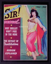 BETTIE PAGE 8.5 X 11 2-SIDED PIN-UP SIR MAGAZINE PHOTO & MUSICAL COMEDY ... - $5.94