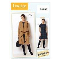 Butterick Patterns B6244B50 Misses/Women's Coat and Dress, B5 (8-10-12-1... - $14.70