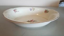 Priscilla Eggshell Nautilus Oval Bowl - $7.36