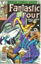 Fantastic Four Comic Book #221 Marvel Comics 1980 FINE+ - $4.50
