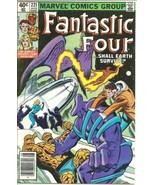 Fantastic Four Comic Book #221 Marvel Comics 1980 FINE+ - $3.99