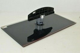 Glass Samsung TV Stand Base Model BN61-04927X #1-2 w Red Accent  - $85.49