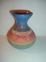Signed E Gray Navajo Pottery Vase - $49.99