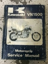 1987 1988 1989 1990 1991 1992 Kawasaki VN1500 Service Repair Shop Manual... - $24.74