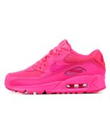 Nike Air Max 90 Women's Fashion Lifestyle Pink Fuchsia Hip Hop Design Sn... - $175.00