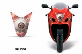 Faro Frontal Ojo Gráficos Kit Pegatina para Suzuki Hayabusa 1300 08-14 Dividido - $18.81