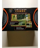 Golf Shag Bag and Chipping Combo Large Chipping Net, Collapsible Shag Bag   - $22.76