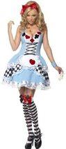 Smiffys Fever Miss Wonderland Costume image 1