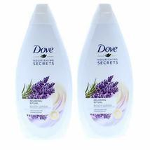 2 Pk. Dove Relaxing Ritual Body Wash, Lavender Oil & Rosemary 16.9 Fl Oz... - $9.50