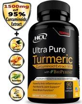 Health Code Labs Turmeric Curcumin 19X Stronger 1500mg 95% Curcuminoids ... - $96.99