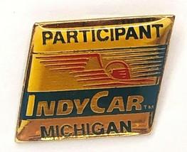 Participant Indy Car Michigan Hat Pin Lapel - $13.99