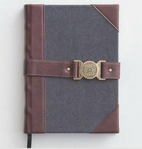 Premium Christin Journal - Diary, Gray Felt and Leather, New - $22.72