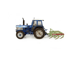 Ford TW25 4x2 with Bomford Superflow Plough Diecast Model Tractor J7118 - $68.27