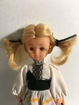 "Vintage Ethnic Folk Doll 8."" Tall  Original Costume - $11.63"