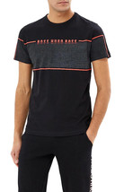 Hugo Boss Men's Graphic Logo Panel Regular Fit Cotton T-Shirt Tee 4 50399926