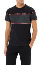 Hugo Boss Men's Graphic Logo Panel Regular Fit Cotton T-Shirt Tee 4 50399926