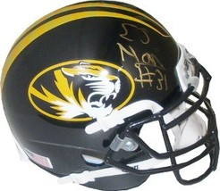 E.J. Gaines signed Missouri Tigers Authentic Schutt Mini Helmet - $44.95