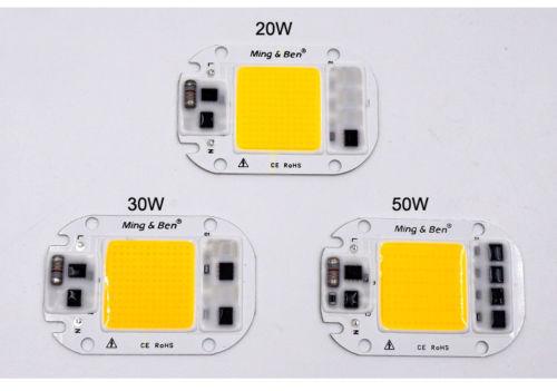 LED COB Lampe Chip 5 Watt 20 Watt 30 Watt 50 Watt 220 V Eingang Smart IC Driv...