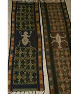 Rare Hand spun Hand woven Sumba Hinggi Songket Ikat Geometric Nassa Shel... - $123.49