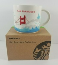 Starbucks Coffee YAH 14oz Mug 2017 SAN FRANCISCO CA You Are Here Cup wit... - $29.99