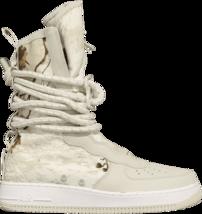 Mens Nike Air Force 1 Sf AF1 Hi Light Bone Boots Real Tree AA1128-005 14 - $169.99