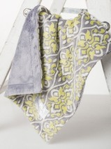 Lime/Gray Posh By Baby Laundry Minky Cuddle Lovey-BLANKET-QTY 1 - $9.99