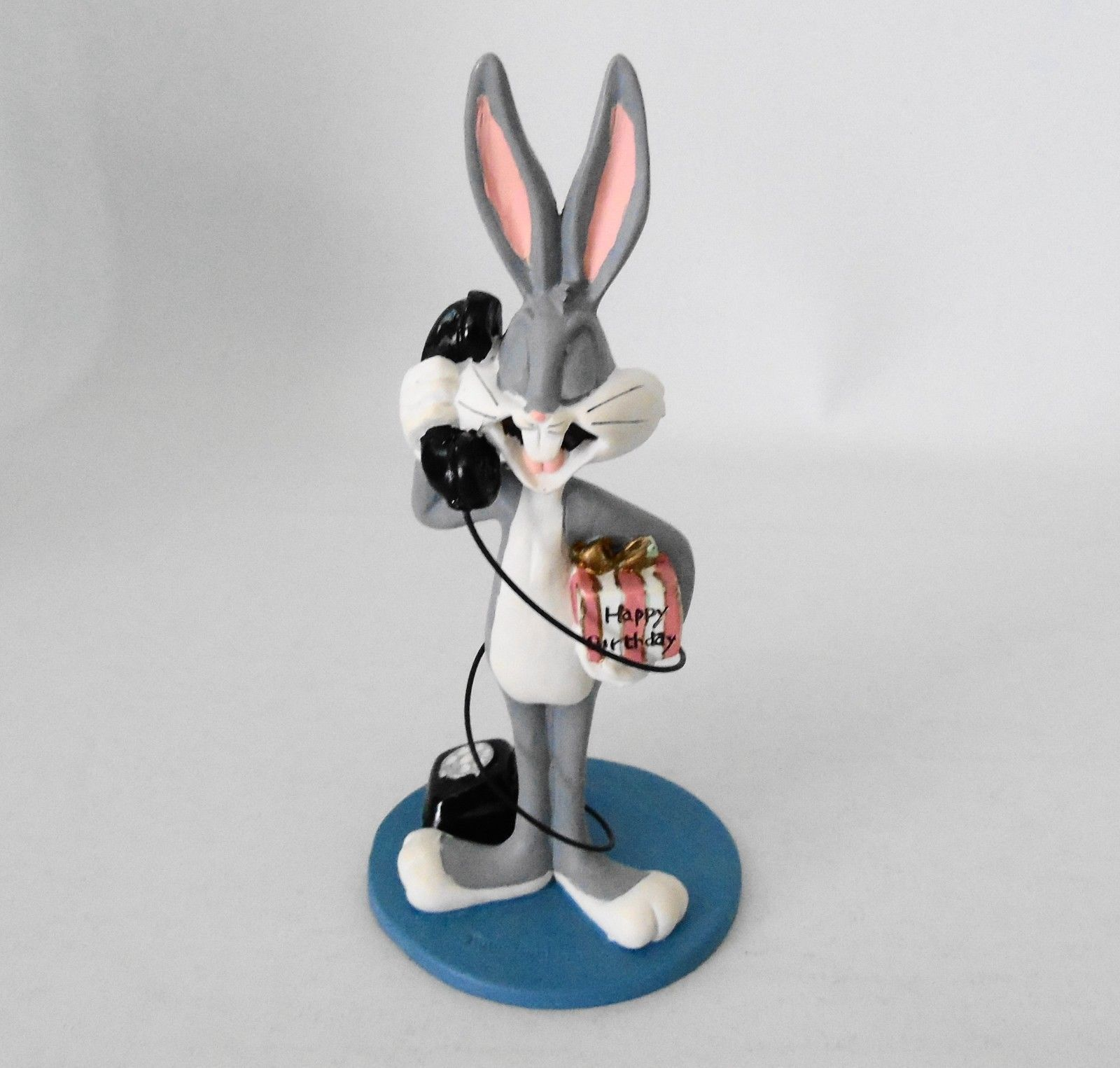 Primary image for Extremely Rare! Looney Tunes Bugs Bunny on the Phone Figurine Statue