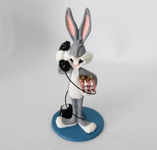 Extremely Rare! Looney Tunes Bugs Bunny on the Phone Figurine Statue - $168.30