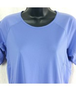 Patagonia Womens Med Athletic Purple Shirt Capilene Base Layer Hiking Cl... - $29.99