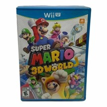 Super Mario 3D World Wii U, 2013 -Blue Case New Sealed - $98.97
