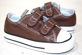 Converse All Star Chuck OX 709448F chocolate Baby Toddler Shoes - $26.68+
