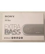 Sony SRS-XB20 Portable Wireless Bluetooth Speaker System - White - $35.69