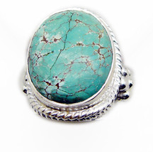 fair Turquoise 925 Sterling Silver Multi Ring Natural exporter US - $29.69
