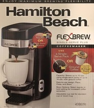 Hamilton Beach Single Serve Coffee Maker, Flexbrew (49997) Black - $55.44