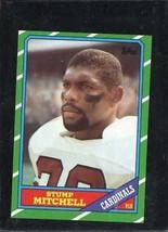 1986 Topps Set Break #328 Stump Mitchell Exmt *C15794 - $0.99