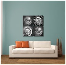 """Pingo World 0816Q8X2PVA """"Black and White Stairwells"""" Gallery Wrapped Can... - $39.55"""