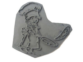 """Lili of the Valley Unmounted Rubber Stamp """"Pancake Day"""" #ST552 image 2"""