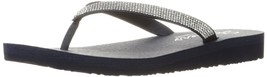 Skechers Cali Women's Meditation Chill Vibes Toe Ring Sandal, Navy Rhine... - $64.50