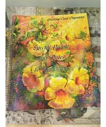Vintage Greeting Card Organizer Book Special People and Dates to Remembe... - $8.00