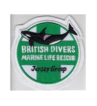SCUBA United Kingdom Jersey Group Marine Life Rescue Divers 4.5 x 4.5 in - $10.99