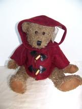 Dan Dee collectors choice Teddy's Teddy bear with wool hooded coat NWT - $12.32