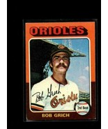1975 TOPPS #225 BOBBY GRICH VGEX ORIOLES  - $0.99