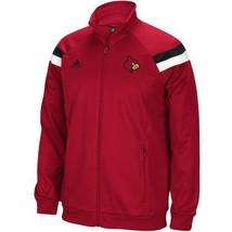 New Adidas NCAA Louisville Cardinals Climalite Coach Full Zip Warm Up Jacket 2XL - $46.52