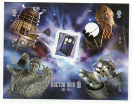 GB 2013 Dr Who unmounted mint mini / miniature sheet MNH stamps m/s Doctor - $4.06