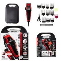 WAHL Professional Hair Cut Clipper Trimmer Set 20 Piece Shaving Machine ... - $33.43