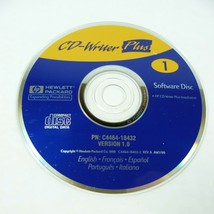 HP CD-Writer Plus v1.0 Installation Software Disc DISC 1 ONLY! - $12.86