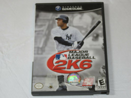 Majeur League Baseball 2K6 Nintendo Gamecube 2006 Vidéo Jeu E-Everyone - $16.03